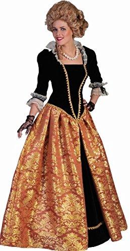 Costume barocco lungo gonna dama del 600