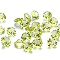 Be You Light Peridot Colour Cubic Zirconia AAA Quality 5 mm Diamond Cut Round Shape 250 pcs loose gemstone