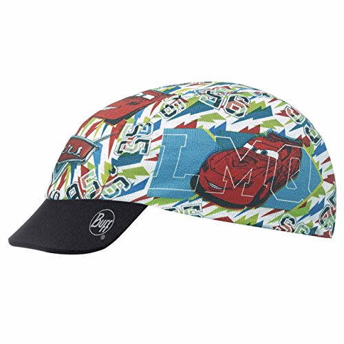 Buff Kinder Multifunktionstuch CARS CHILD CAP RETRO MULTI, Mehrfarbig - White/Blue/Red/Yellow/Green/Black, One size, 111607.555.10.00