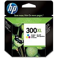 HP 300XL High Yield Tri-color Original Ink Cartridge (CC644EE)
