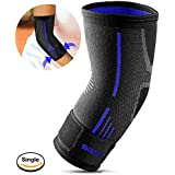 SGM Elbow Brace Band Support Cap Compression Sleeve With Adjustable Strap, Perfect Elbow Support For Men, Women...