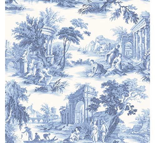 Cole & son fils Folie Collection Villandry papier peint 99/1001 Bleu cobalt