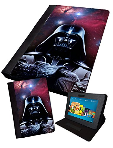 Image of Vader Stars/Nebula | Printed Tablet Folding Case Cover Faux | iPad 2/3/4