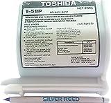 PP premium Printware Bundle: org. Toshiba Toner T-58P , 250 g + Einwegkugelschreiber