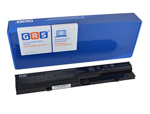 GRS® Notebook Akku für HP Compaq 625, 325, 425, 320, 620, 420, ProBook 4520s, 4320s, 4325s, HP 620, ersetzt: PH06, HSTNN-LB1A, HSTNN-UB1A, PH09, HSTNN-IB1A, HSTNN-Q78C-3, HSTNN-Q78C-4, 587706-131, HSTNN-W79C-5, 587706-761, HSTNN-Q81C, HSTNN-CB1A, 593573-001, 593572-001, BQ350AA, 587706-121, HSTNN-I86C, HSTNN-W80C, HSTNN-Q78C, 587706-421, Laptop Batterie 4400mAh, 10.8V/ 48Wh (Laptop Akku Für Hp 625)
