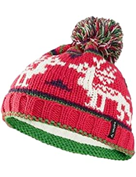 VAUDE Cornua Beanie - Gorro de punto para niños, invierno, infantil, color Rosebay, tamaño M