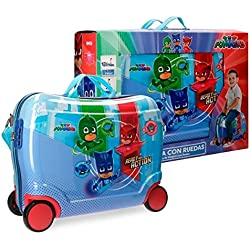 PJ Masks Ready For Action Equipaje Infantil, 50 cm, 34 Litros, Multicolor