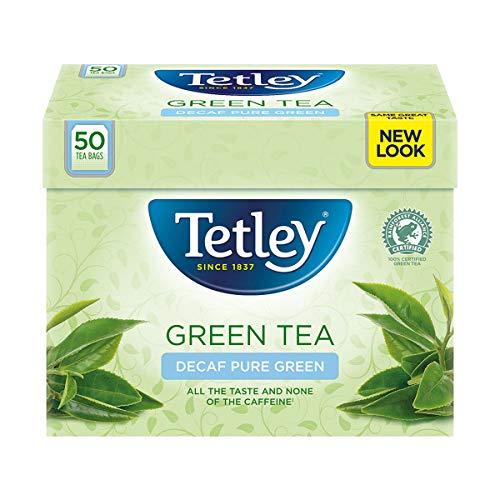 Tetley Green Tea decaf 50 Btl. 100g – entkoffeinierter Grüner Tee für jeden Genuss