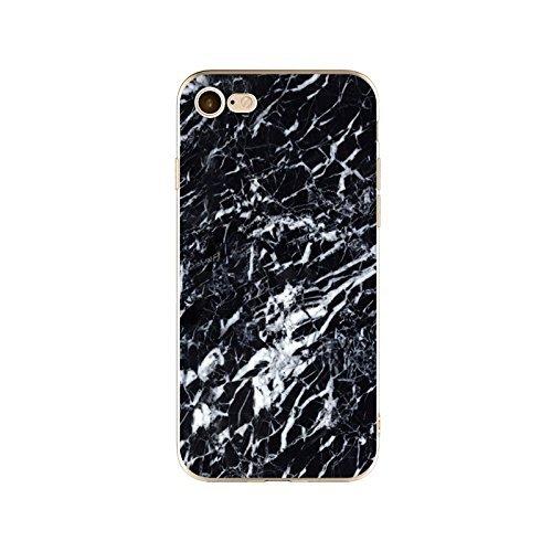 Coque iPhone 5 5s SE Housse étui-Case Transparent Liquid Crystal en TPU Silicone Clair,Protection Ultra Mince Premium,Coque Prime pour iPhone 5 5s SE-Marbre-style 14 24