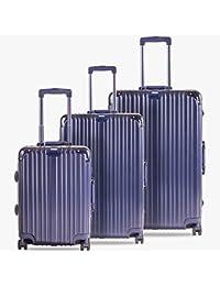 STEGO DREAMLINER LUGGAGE SET – PRUSSIAN BLUE( SET OF 3 BAGS )