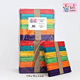 Multi Coloured Wooden Lollipop Sticks Pk-1000 By ARK