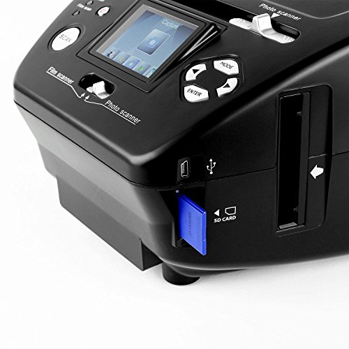 oneConcept 179B Combo Dia Scanner Film-...