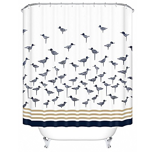 norcho-78x78-anti-bacterial-mildew-resistant-shower-curtain-liner-with-rolling-ring-blue-birds