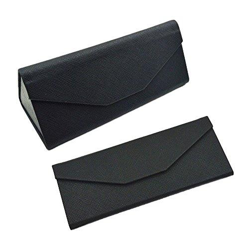 vanker-artificial-leather-foldable-sunglasses-eyeglass-eyewear-box-magnetic-hard-case-keys-holderbla
