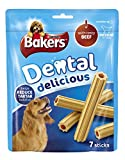Bakers Dental Delicious Beef for Medium Dogs 200 g, Pack of 6