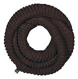 Brandit - sciarpa loop in maglia Unisex, sciarpa tubo, sciarpa marrone Taglia unica
