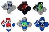 PJ Masks Pyjama-helden 6er Pack Jungen Socken Set (23/26)