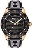 Tissot PRS 516 Powermatic 80 - Reloj automático para hombre, esfera analógica negra con fecha de...
