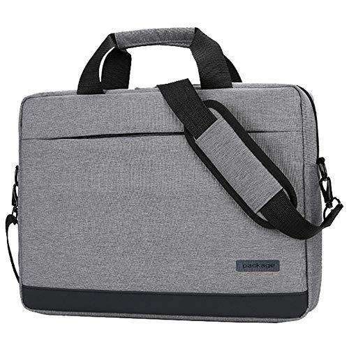 HotYou 14 Zoll Laptoptasche Notebooktasche 14-15.6 Zoll, Laptop Tablet Schultertasche 360 Stoßfest Umhängetasche Computer Bag Tasche Wasserdicht mit Schultergurt,Grau,14 Zoll