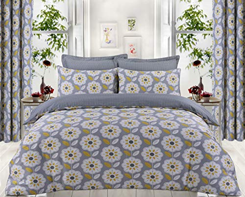 Diseño de la gama Posh para crear un juego de ropa de cama que se destacará. Estas fundas de edredón vienen con un ribete decorativo para un aspecto elegante. Dale a tu dormitorio un aspecto nuevo, elegante, lujoso y elegante con nuestros hermosos y ...