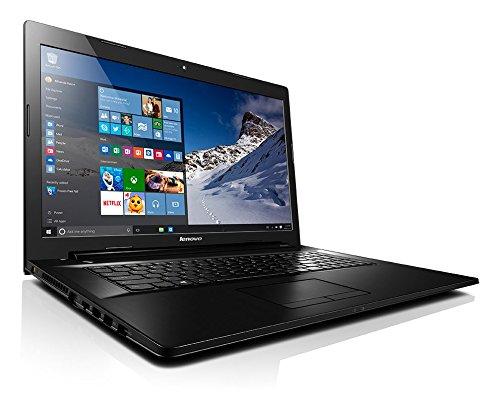 Lenovo G70-35 43,94cm (17,3 Zoll HD+ Glare) Multimedia Notebook (AMD A6-6310 Quad-Core, 2,4GHz, 4GB RAM, 1TB HDD, AMD Radeon R4 Grafik, DVD-Brenner, Windows 10 Home) -