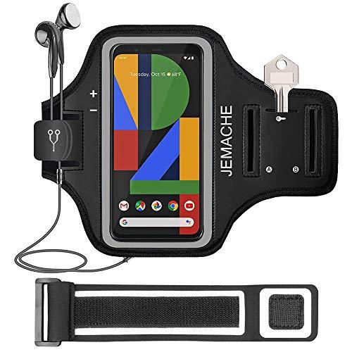 Pixel 3a XL, Pixel 3XL, Pixel 2XL Armband, JEMACHE Lauf Übung Workouts Arm Band Case für Google Pixel 3a XL, Pixel 3 XL, Pixel 2 XL, Pixel XL mit Schlüsselhalter