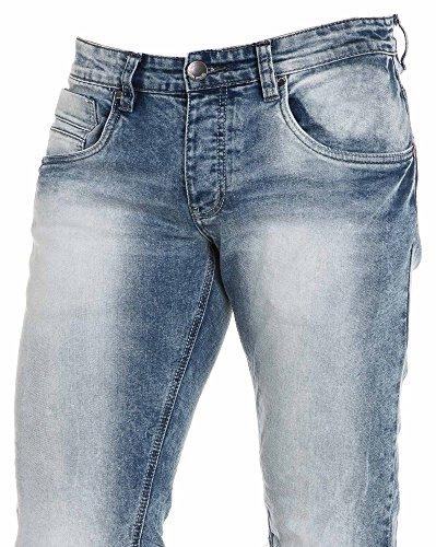 BLZ jeans - Blau Jean großen Auswaschen Blau