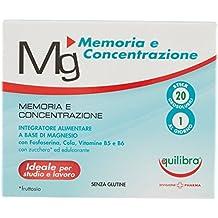 Equilibra Integratore Alimentare Magnesio Memoria e Concentrazione - 20 Pezzi