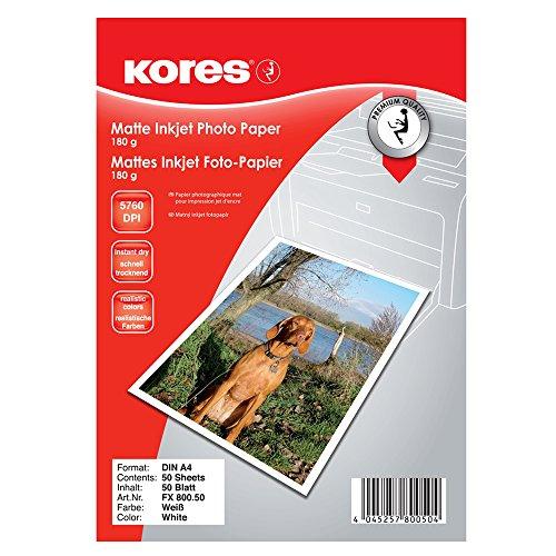 Kores FX800.50 Mattes Inkjet Foto-Papier -
