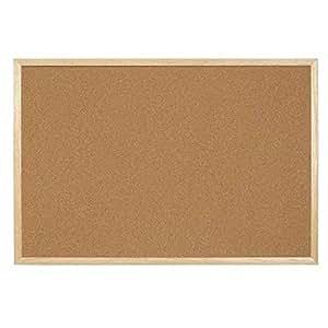 Tableau en liège naturel Master of Boards®   cadre en bois - liège 100% naturel   tailles au choix - 45x60cm