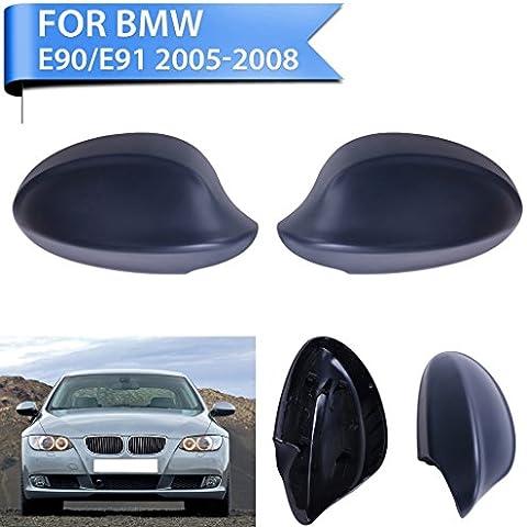 1 paio Sengear 2005-2008 BMW E90 Serie 3 325i 328i 330i E91 berlina, colore: nero a specchio
