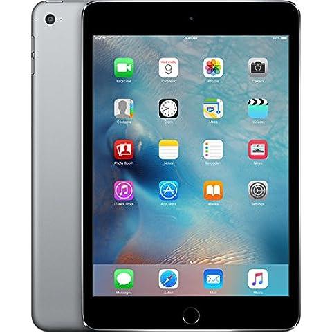 Apple iPad mini 4 64GB Gris - Tablet (Minitableta, IEEE 802.11ac, iOS, Pizarra, iOS, Gris)