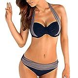 B2prityDamen Bikini Sets (Druckblume5, L (EU 38 40)) Günstig