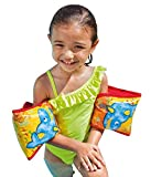 NT Swimming Safety Arm Band 23 Cm X 18 Cm Inflatable Swimming Pool Arm Band, for 3 to 6 Years Kids, Swimming Safety Suit Intex Recreation Aqua Fish Armbands Children Swimming Learning Safe Life Vest for Kids