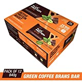 RiteBite Max Protein Active Green Coffee Beans Bars 840g Pack of 12 (70g x 12)