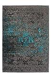 Lalee abgepasste Teppiche, 100% Polyester, Blau, 120 x 170 cm