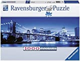 Ravensburger 15050 Leuchtendes New York, Panorama Puzzle, 1000 Teile