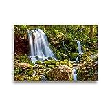 Premium Textil-Leinwand 45 x 30 cm Quer-Format Naturdenkmal Bärenschützklamm | Wandbild, HD-Bild auf Keilrahmen, Fertigbild auf hochwertigem Vlies, Leinwanddruck von Martin Ristl