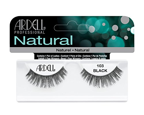 Ardell Fashion Wimpern (Ardell Fashion Lashes 103, das Original, black, 1er Pack (1 x 1 Paar))