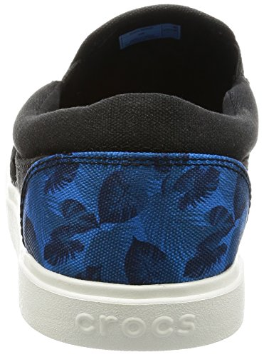 Crocs Citilane Tropical Slip-on M Ocn/Whi, Scarpe da Ginnastica Basse Uomo Blu (Ocean/White)