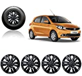 #7: Auto Pearl - Premium Quality Car Full Wheel Cover Caps Black 13 Inches For - Tata Tiago (For XB/XE/XM Models Only)