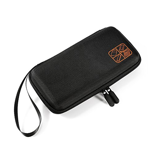 Pixnor calcolatrice grafica con Fall Travel Case Bag Custodia Sacchetto Contenitore Per Ti 83Plus TI-84Plus CE Ti 84Plus Ti 89Titanium hp50g