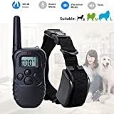 Generic only controller : 300M Dog Collar Electric Remote LCD 100LV Shock Vibrate