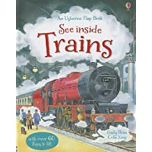 See Inside Trains (Usborne Flap Book) by Emily Bone (2013-06-02)