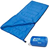 Premium 200 Warm Lightweight Envelope Sleeping Bag - For Traveling, Camping, Hiking, Indoor