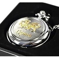 Oro galés dragón reloj de bolsillo
