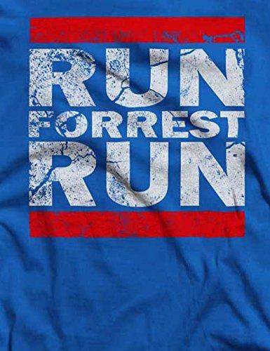 Run Forrest Run T-Shirt S-XXL 12 Farben / Colours Royal Blau