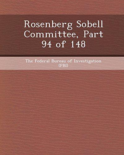 Rosenberg Sobell Committee, Part 94 of 148
