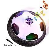 Air Hover Ball Balón de Fútbol Flotante con LED, Pelota con Suspensión de Aire, Formación...