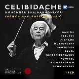 Celibidache : Musique francaise et russe (Coffret 11 CD)